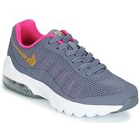 Sko Pige Lave sneakers Nike AIR MAX INVIGOR GRADE SCHOOL Blå / Pink