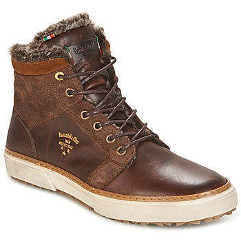 Sko Herre Høje sneakers Pantofola d'Oro BENEVENTO UOMO FUR MID Brun