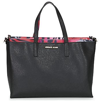 Tasker Dame Shopping Versace Jeans ANTALOS Sort / Rød / Flerfarvet
