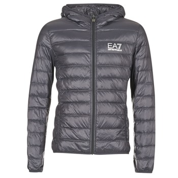 textil Herre Dynejakker Emporio Armani EA7 TRAIN CORE ID DOWN LIGHT HD Grå