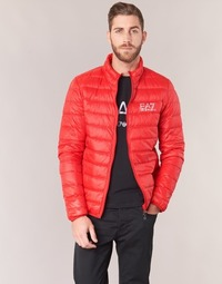 textil Herre Dynejakker Emporio Armani EA7 TRAIN CORE ID DOWN LIGHT JKT Rød