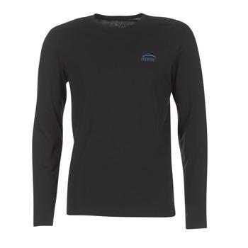textil Herre Langærmede T-shirts Oxbow TEITH Sort