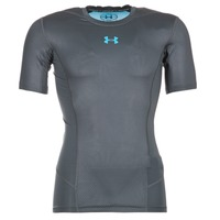 textil Herre T-shirts m. korte ærmer Under Armour HG SUPERVENT 2.0 SS Sort / Blå