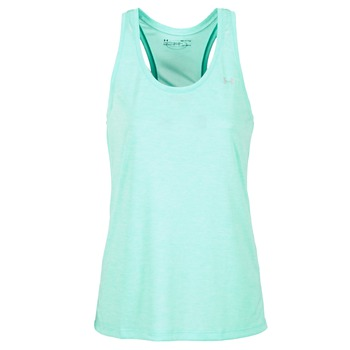 textil Dame Toppe / T-shirts uden ærmer Under Armour TECH TANK - SOLID Grøn