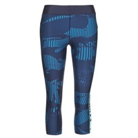 textil Dame Leggings Under Armour UA HG ARMOUR GRAPHIC CAPRI Blå
