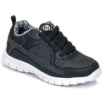 Sko Dreng Lave sneakers Freegun FG VINO Sort