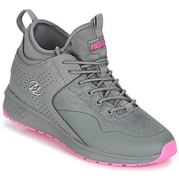 Sko Pige sko med hjul Heelys PIPER Grå / Pink