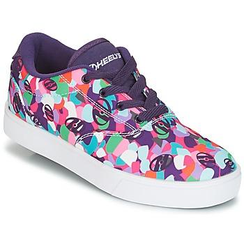 Sko Pige sko med hjul Heelys LAUNCH Violet / Flerfarvet