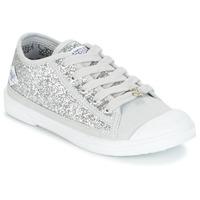 Sko Pige Lave sneakers Le Temps des Cerises BROOK Sølv