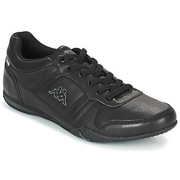 Sko Herre Lave sneakers Kappa PARHELIE Sort / Grå