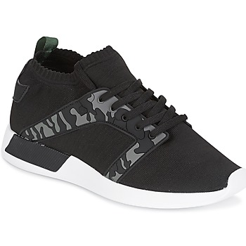 Sko Herre Lave sneakers Cash Money ARMY Sort / KAKI