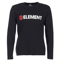 textil Herre Langærmede T-shirts Element BLAZIN LS Sort