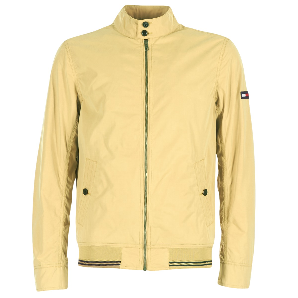 Se Vindjakker Tommy Jeans  THDM BASIC HARRINGTON ved Spartoo