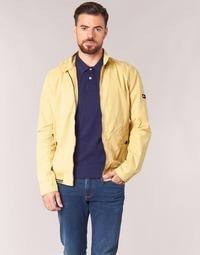 textil Herre Jakker Tommy Jeans THDM BASIC HARRINGTON Beige