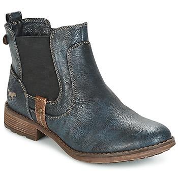 Sko Dame Støvler Mustang NANI Marineblå
