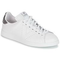 Sko Dame Lave sneakers Victoria DEPORTIVO BASKET PIEL Hvid / Grå
