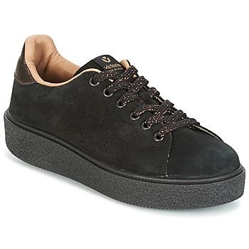 Sko Dame Lave sneakers Victoria DEPORTIVO SERRAJE P. NEGRO Sort