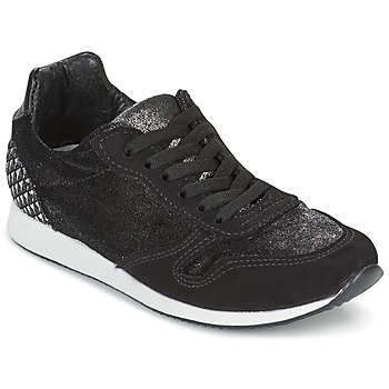 Sko Dame Lave sneakers Ippon Vintage RUN VELVET Sort