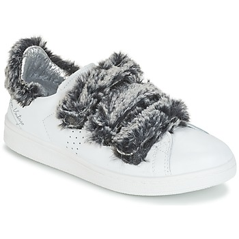 Sko Dame Lave sneakers Ippon Vintage FLIGHT POLAR Hvid / Grå
