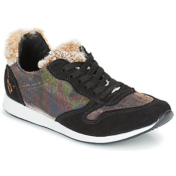 Sko Dame Lave sneakers Ippon Vintage RUN SNOW Sort / Kobber