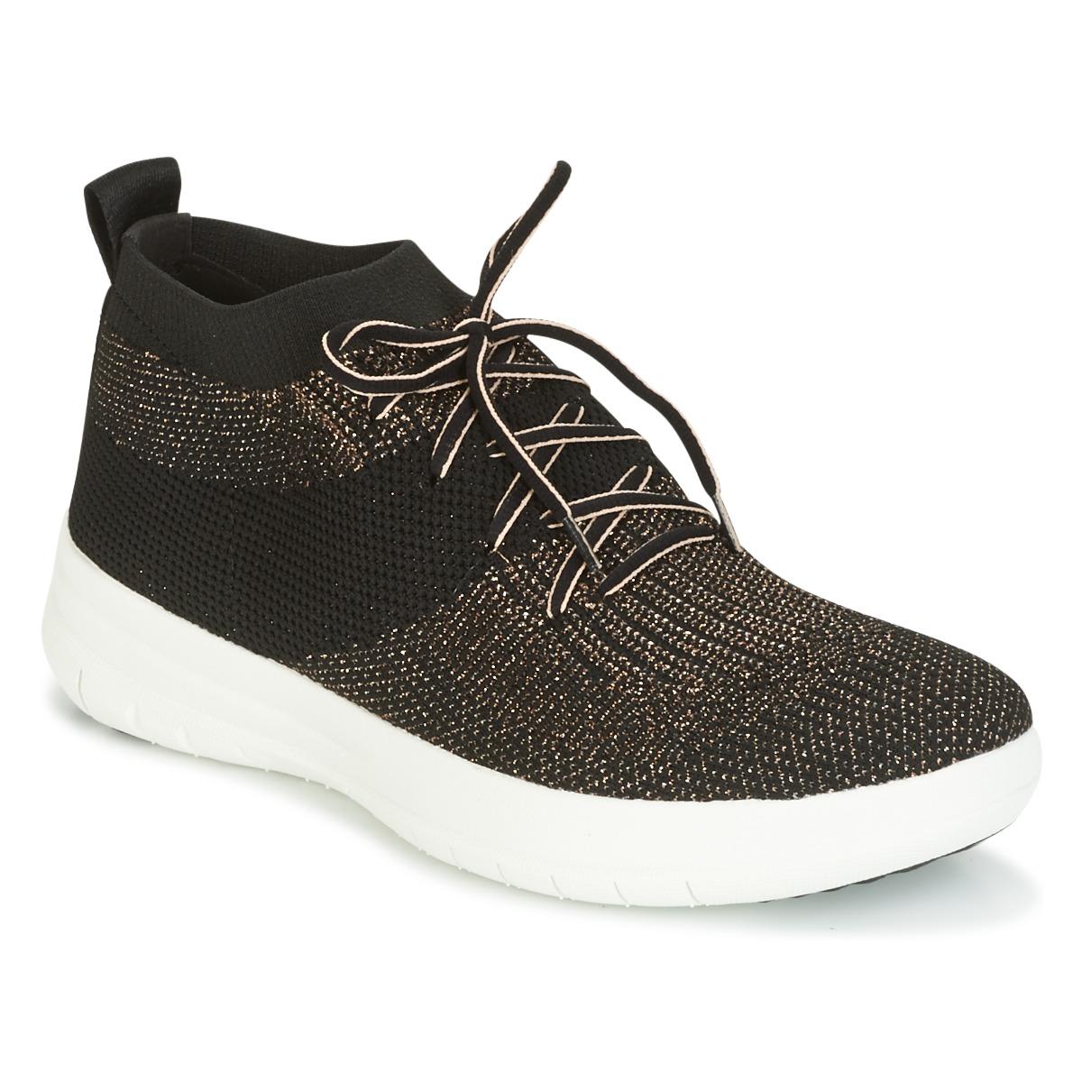 Sneakers FitFlop  UBERKNIT SLIP-ON HIGH TOP SNEAKER