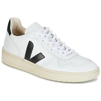 Sko Lave sneakers Veja V-10 Hvid / Sort