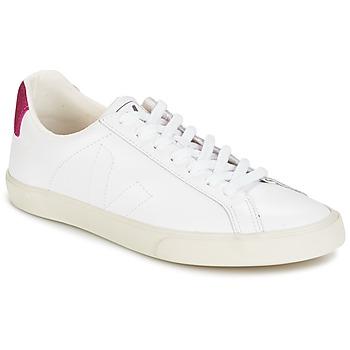 Sko Dame Lave sneakers Veja ESPLAR LT Hvid / Pailleter / Magenta