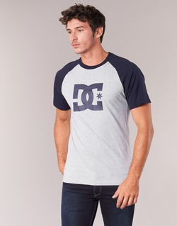 textil Herre T-shirts m. korte ærmer DC Shoes STAR RAGLAN SS Sort / Grå