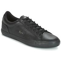 Sko Herre Lave sneakers Lacoste LEROND 4 Sort / Hvid