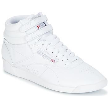 Sko Dame Høje sneakers Reebok Classic F/S HI Hvid / Sølv