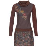 textil Dame Korte kjoler Smash NANCY Brun