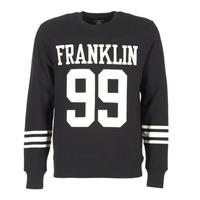 textil Herre Sweatshirts Franklin & Marshall GECAR Sort / Hvid