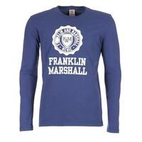 textil Herre Langærmede T-shirts Franklin & Marshall DESTU Marineblå