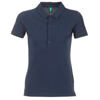 textil Dame Polo-t-shirts m. korte ærmer Benetton MAJOU Marineblå