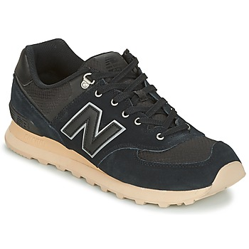 Sko Lave sneakers New Balance ML574 Sort