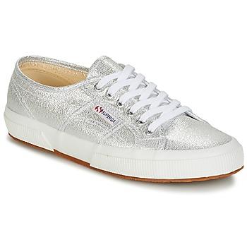 Sko Dame Lave sneakers Superga 2750-LAMEW Sølv