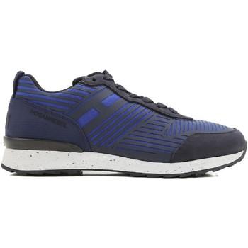 Sko Herre Lave sneakers Hogan HXM2610W500ESB0XKA blu acceso