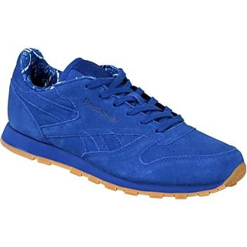 Sko Børn Sneakers Reebok Sport Classic Leather TDC  BD5052 Blue