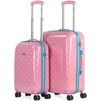 Tasker Hardcase kufferter Skpat Modermærker 2 enheder Pink