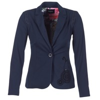 textil Dame Jakker / Blazere Desigual GROFA Marineblå