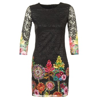 textil Dame Korte kjoler Desigual GRAFI Sort