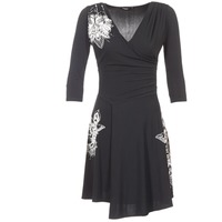 textil Dame Korte kjoler Desigual GRAFU Sort