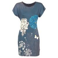 textil Dame Korte kjoler Desigual MARTI Blå