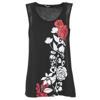 textil Dame Toppe / T-shirts uden ærmer Desigual MAGEIS Sort