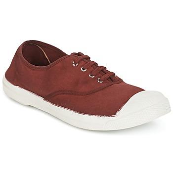 Sko Dame Lave sneakers Bensimon TENNIS LACET Vin