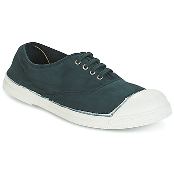 Sko Dame Lave sneakers Bensimon TENNIS LACET Grøn / Mørk