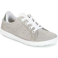 Sko Pige Lave sneakers Citrouille et Compagnie HINETTE Grå / Sølv