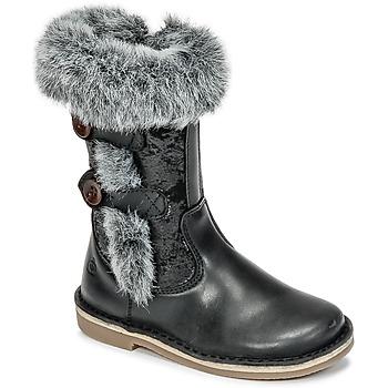 Sko Pige Chikke støvler Citrouille et Compagnie HOSY Sort