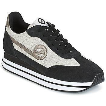 Sko Dame Lave sneakers No Name EDEN JOGGER Sort / Grå