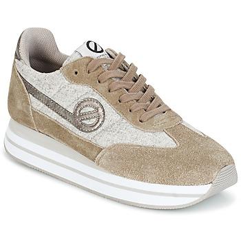 Sko Dame Lave sneakers No Name EDEN JOGGER Klit / Grå